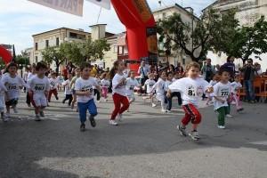 Bambini in corsa alla CorriCagnano 2011