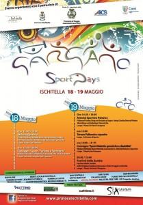 Gargano Sport Days, la locandina