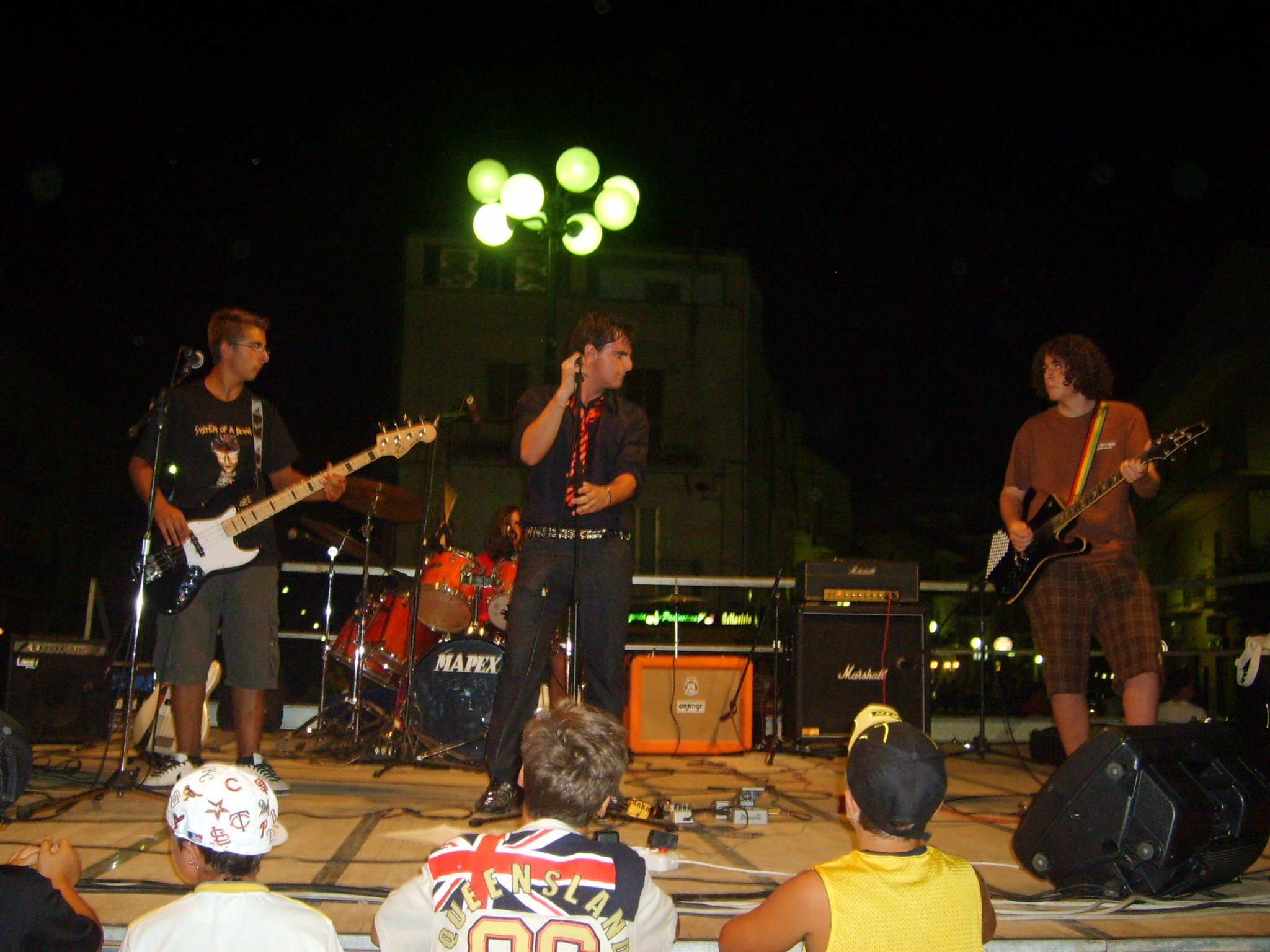 Un momento del Living Festival 2007
