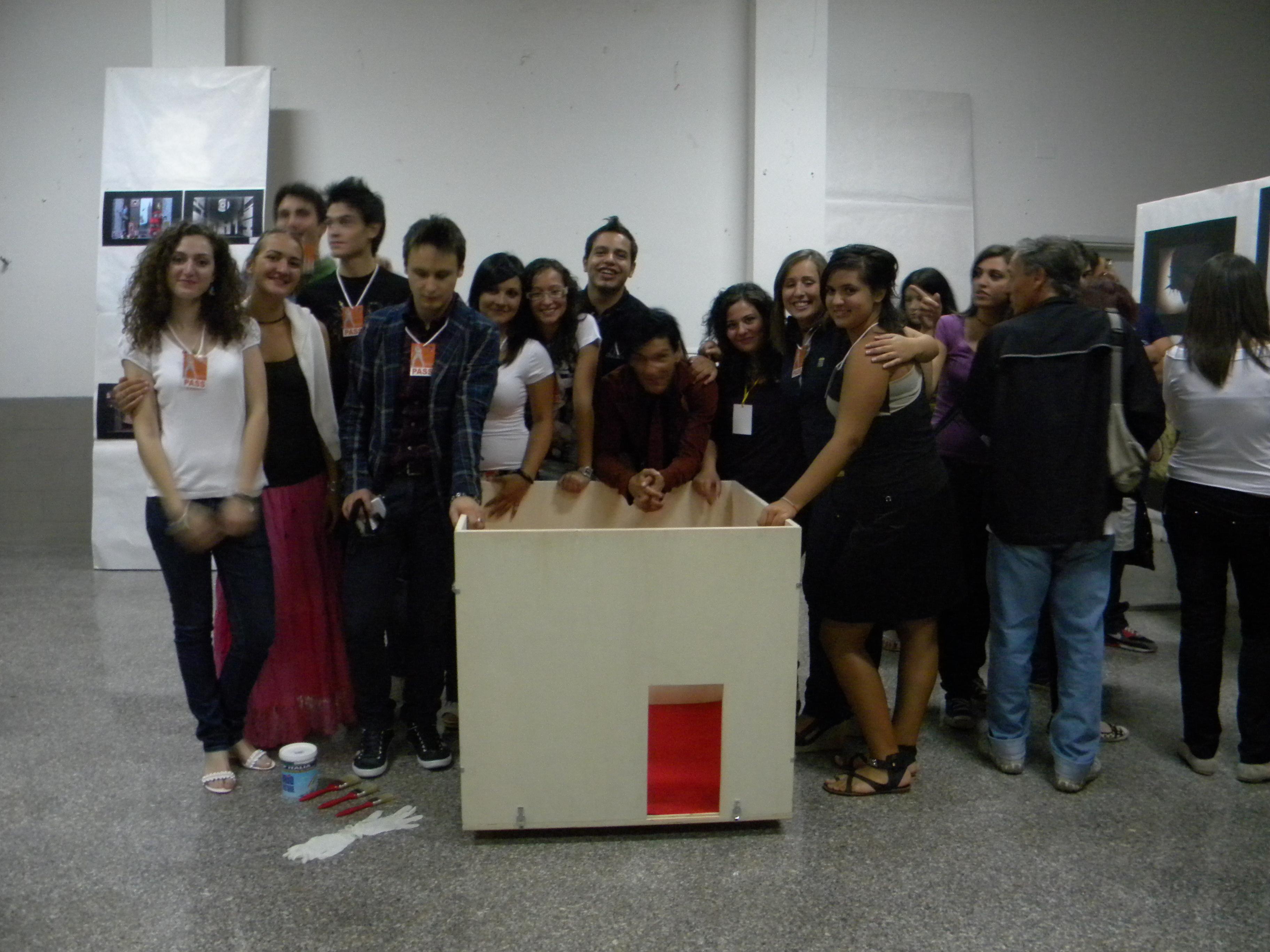 Il White Cube al Cagnano Living Festival 2010