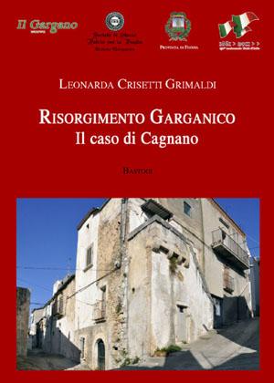 Il Risorgimento Garganico, copertina del libro