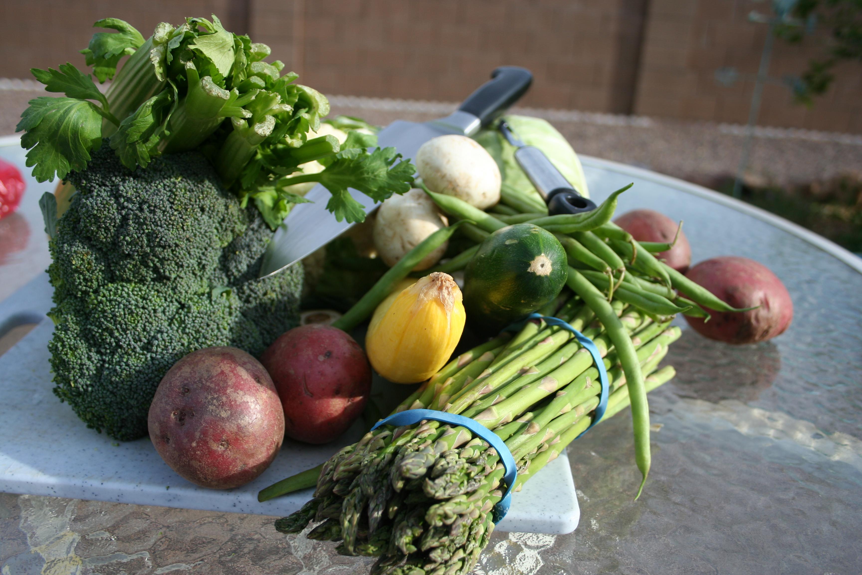 Gli asparagi, tra i prodotti genuini della nostra dieta (ph: Thejazzcat per Stockvaul)t