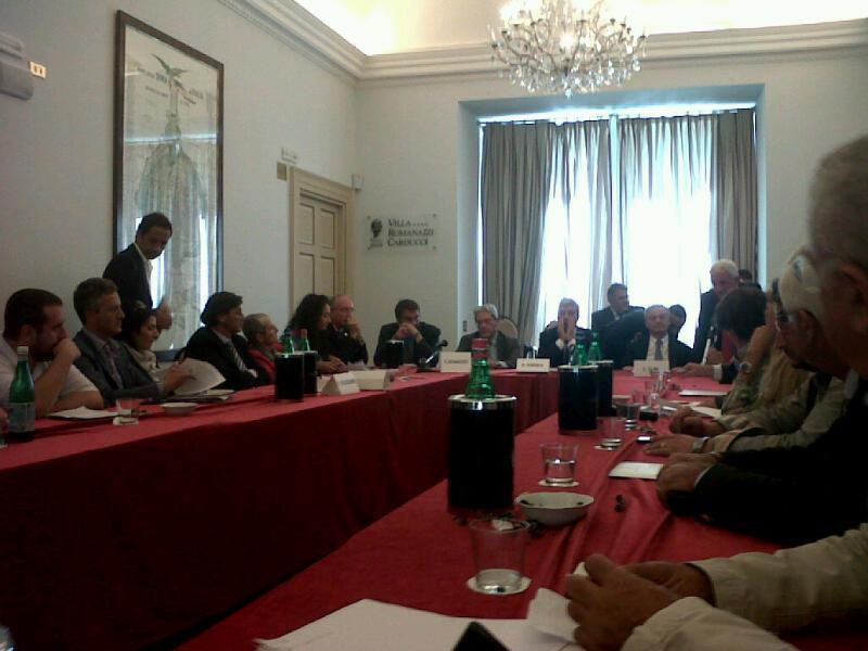 L'incontro con il Ministro Clini a Bari