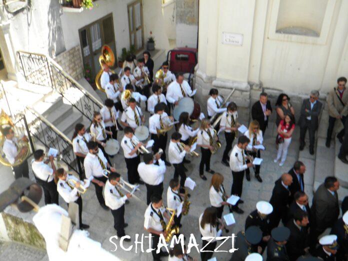 la banda di Cagnano Varano